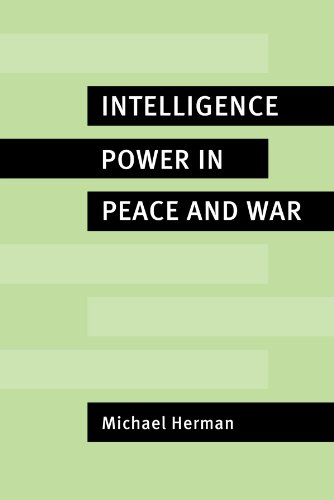 9780521566360: Intelligence Power in Peace and War
