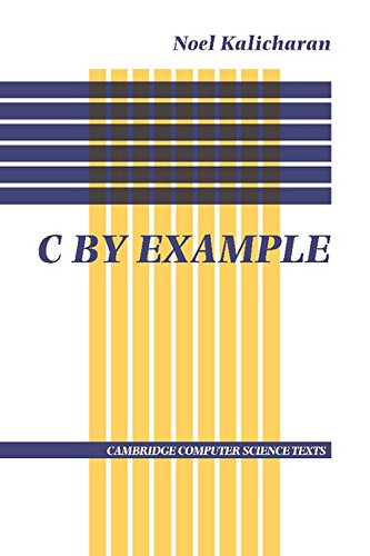 9780521567008: C By Example