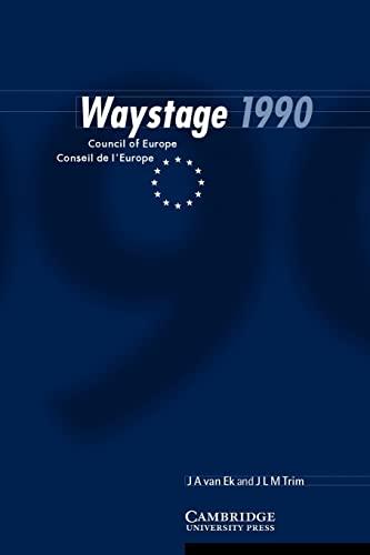 Waystage 1990: Council of Europe Conseil de: Ek, Jan Ate