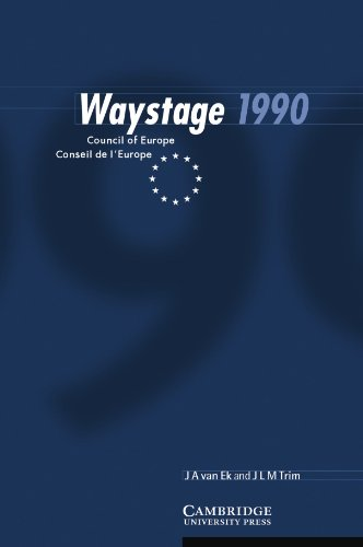 9780521567077: Waystage 1990: Council of Europe Conseil de l'Europe