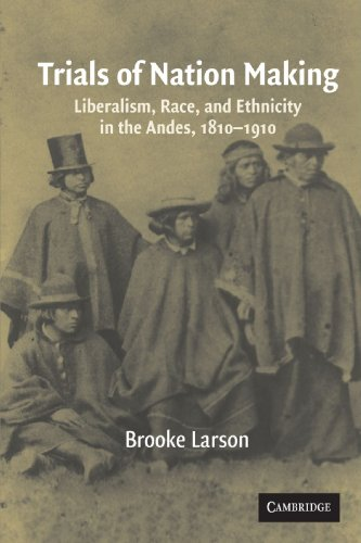 9780521567305: Trials of Nation Making: Liberalism, Race, and Ethnicity in the Andes, 1810–1910