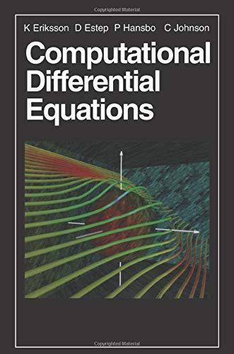 9780521567381: Computational Differential Equations