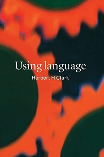 9780521567459: Using Language Paperback