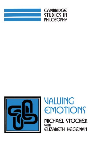 9780521567862: Valuing Emotions Paperback (Cambridge Studies in Philosophy)