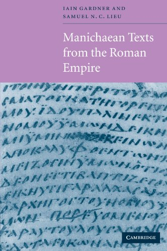 9780521568227: Manichaean Texts from the Roman Empire