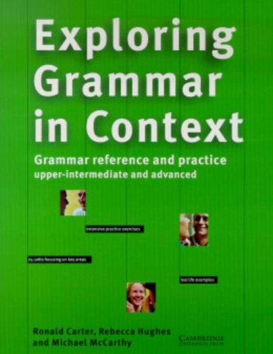 9780521568449: Exploring Grammar in Context: Upper-intermediate and Advanced