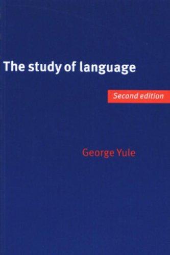 9780521568517: The Study of Language