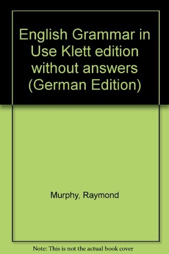 9780521568586: English Grammar in Use Klett edition without answers (German Edition)