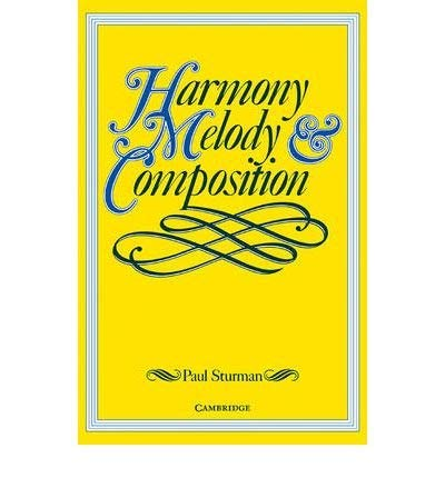 9780521568951: Advanced Harmony, Melody and Composition
