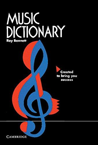 9780521569309: Music Dictionary