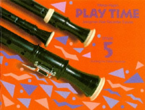 9780521569897: Play Time Recorder Course Stage 5: An Introduction to the Descant Recorder (Fagan Play Time Recorder Course)