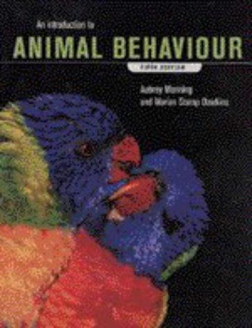 9780521570244: An Introduction to Animal Behaviour