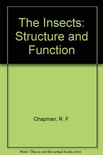 9780521570480: The Insects: Structure and Function