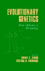 9780521571234: Evolutionary Genetics: From Molecules to Morphology