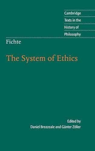 9780521571401: Fichte: The System of Ethics (Cambridge Texts in the History of Philosophy)
