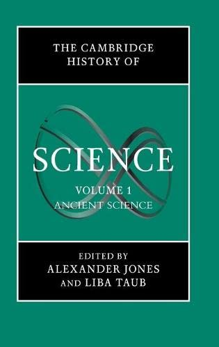 9780521571623: Cambridge History of Science: Ancient Science: 1