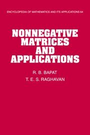 9780521571678: Nonnegative Matrices and Applications (Encyclopedia of Mathematics and its Applications)