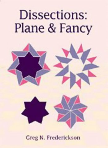 9780521571975: Dissections: Plane and Fancy