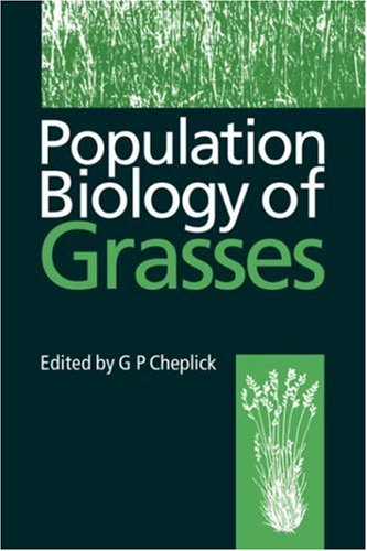 9780521572057: Population Biology of Grasses Hardback