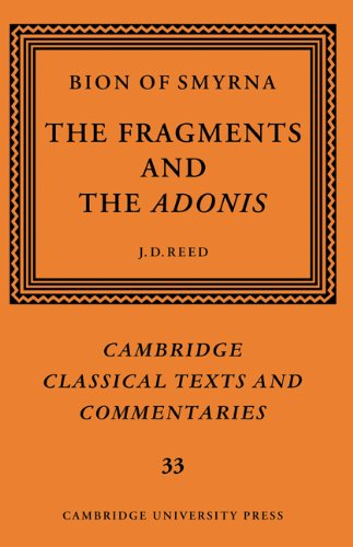 9780521573160: Bion of Smyrna: The Fragments and the Adonis