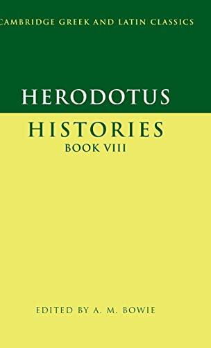 9780521573283: Herodotus: Histories Book VIII (Cambridge Greek and Latin Classics)