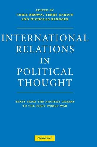 9780521573306: International Relations in Political Thought: Texts from the Ancient Greeks to the First World War