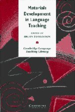 9780521574198: Materials Development in Language Teaching (Cambridge Language Teaching Library)
