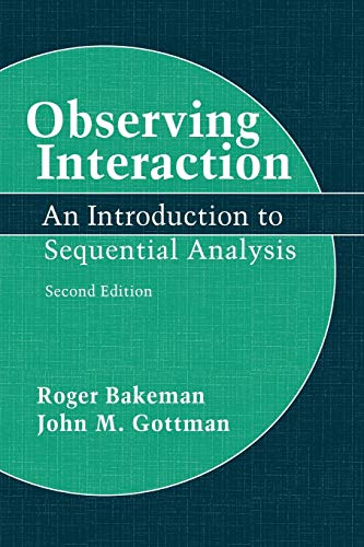 9780521574273: Observing Interaction 2nd Edition Paperback: An Introduction to Sequential Analysis