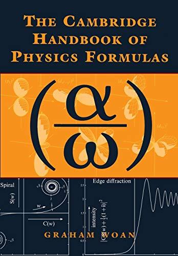 9780521575072: The Cambridge Handbook of Physics Formulas Paperback