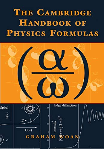 9780521575072: The Cambridge Handbook of Physics Formulas