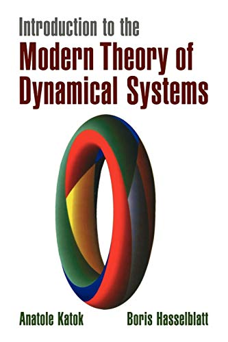 9780521575577: Introduction to the Modern Theory of Dynamical Systems Paperback (Encyclopedia of Mathematics and its Applications)