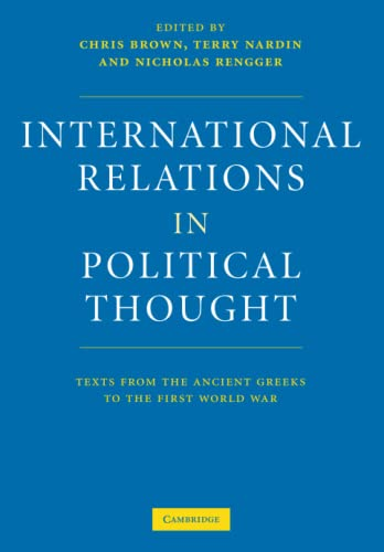 9780521575706: International Relations in Political Thought: Texts from the Ancient Greeks to the First World War