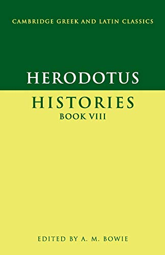 9780521575713: Herodotus: Histories Book VIII (Cambridge Greek and Latin Classics) (Bk. 8)