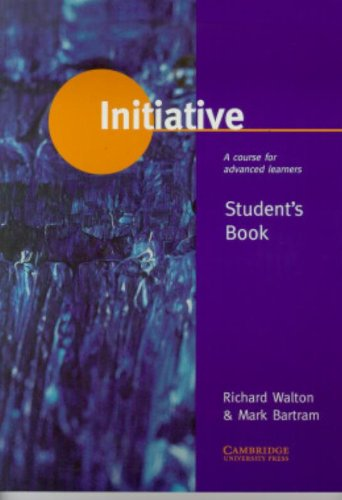 9780521575829: Initiative Student's book: A Course for Advanced Learners
