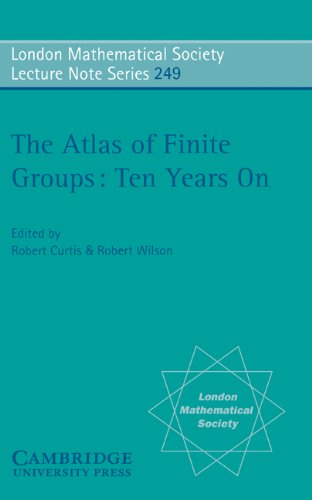 9780521575874: The Atlas of Finite Groups - Ten Years On (London Mathematical Society Lecture Note Series)