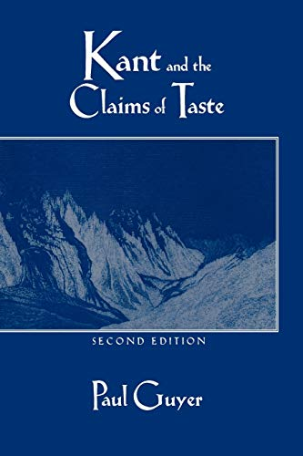 9780521576024: Kant and the Claims of Taste 2nd Edition Paperback