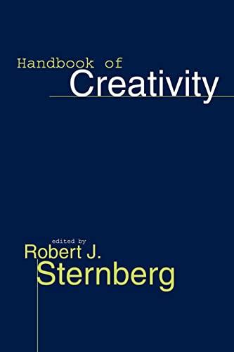 9780521576048: Handbook of Creativity Paperback