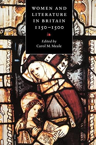 9780521576208: Women and Literature in Britain, 1150-1500 Paperback (Cambridge Studies in Medieval Literature)