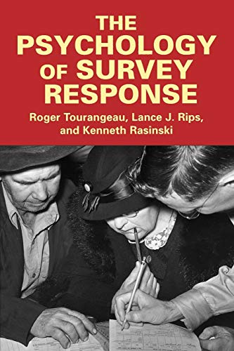 9780521576291: The Psychology of Survey Response
