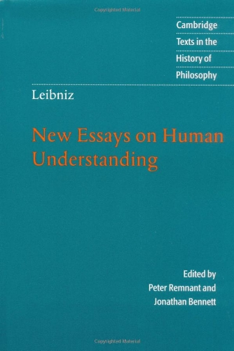 9780521576604: Leibniz: New Essays on Human Understanding 2nd Edition Paperback (Cambridge Texts in the History of Philosophy)