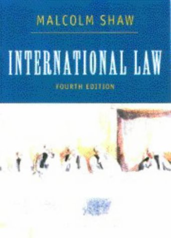 9780521576673: International Law
