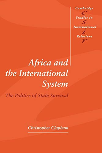 9780521576680: Africa and the International System (Cambridge Studies in International Relations)