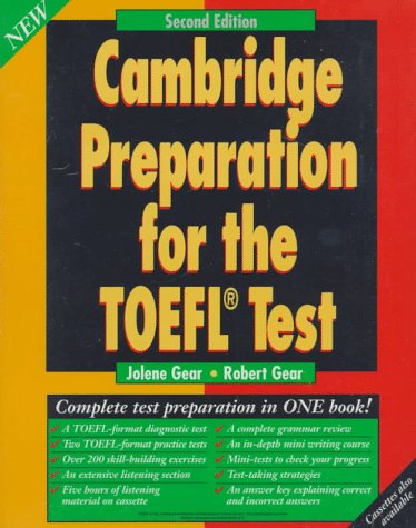 9780521577694: Cambridge Preparation for the TOEFL Test Pack