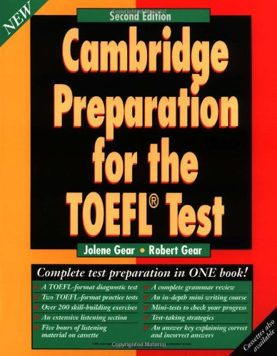 9780521577717: Cambridge Preparation for the TOEFL Test Student's book (Hors Catalogue)