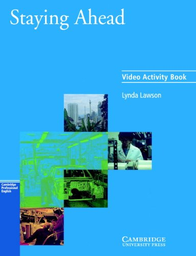 9780521578172: Staying Ahead Video activity book (Cambridge Professional English)
