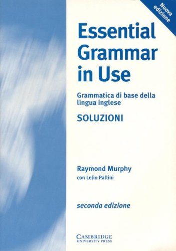 9780521578448: Essential Grammar in Use Italian key: A Reference and Practice Book for Elementary Students of English