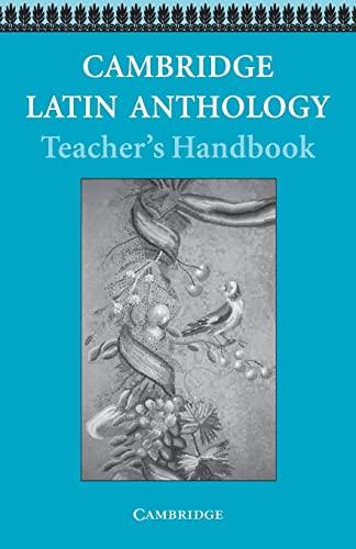9780521578547: Cambridge Latin Anthology Teacher's handbook (Cambridge Latin Course)