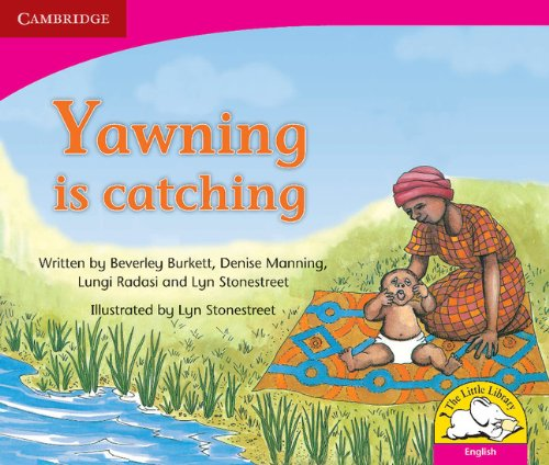 9780521578745: Yawning is catching Yawning is catching (Little Library Literacy)