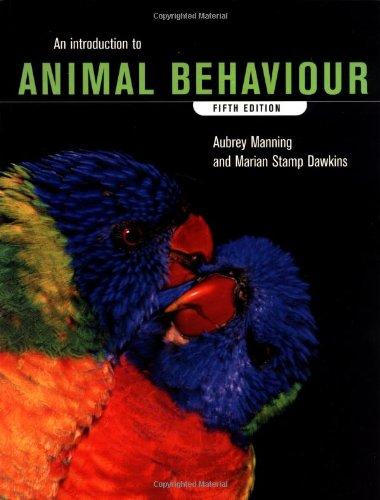 9780521578912: An Introduction to Animal Behaviour