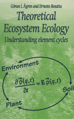 9780521580229: Theoretical Ecosystem Ecology: Understanding Element Cycles